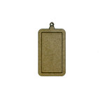 Grapevine Designs and Studio - Chipboard Shapes - Rectangle Pendant