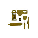 Grapevine Designs and Studio - Chipboard Shapes - Kitchen Tools