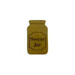 Grapevine Designs and Studio - Chipboard Shapes - Swear Jar