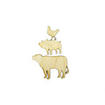 Grapevine Designs and Studio - Wood Shapes - Barnyard Animals