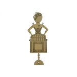 Grapevine Designs and Studio - Chipboard Shapes - Gear Birdcage Girl 2
