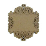 Grapevine Designs and Studio - Chipboard Shapes - Flourish Frame