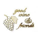 Grapevine Designs and Studio - Wood Shapes - Vineyard Memories