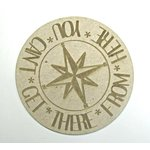 Grapevine Designs and Studio - Chipboard Shapes - You Can't Get There From Here