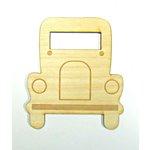 Grapevine Designs and Studio - Wood Shapes - Vintage Car Front