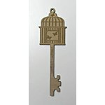 Grapevine Designs and Studio - Chipboard Shapes - Butterfly Cage Key
