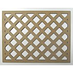 Grapevine Designs and Studio - Chipboard Shapes - Trellis