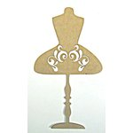 Grapevine Designs and Studio - Chipboard Shapes - Flourish Dress Form