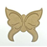 Grapevine Designs and Studio - Chipboard Shapes - Butterfly Silhouette