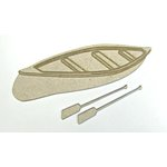 Grapevine Designs and Studio - Chipboard Shapes - Canoe and Oars