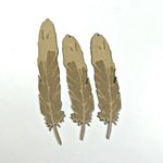 Grapevine Designs and Studio - Chipboard Shapes - Feathers