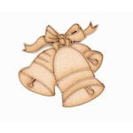Grapevine Designs and Studio - Christmas - Chipboard Shapes - Ringing Bells