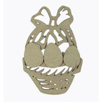 Grapevine Designs and Studio - Chipboard Shapes - Easter Basket