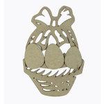 Grapevine Designs and Studio - Chipboard Shapes - Easter Basket