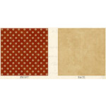 Graphic 45 - Communique Collection - 12 x 12 Double Sided Paper - On the Dot