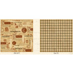 Graphic 45 - Communique Collection - 12 x 12 Double Sided Paper - Classy Correspondence