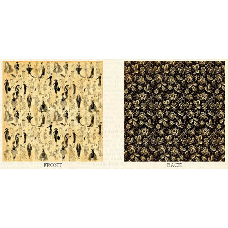 Graphic 45 - Fashionista Collection - 12 x 12 Double Sided Paper - En Vogue