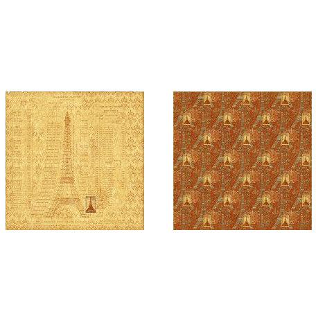 Graphic 45 - Transatlantique Collection - 12 x 12 Double Sided Paper - Paris Post