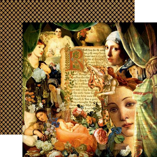Graphic 45 - Renaissance Faire Collecion - 12 x 12 Double Sided Paper - Renaissance Faire