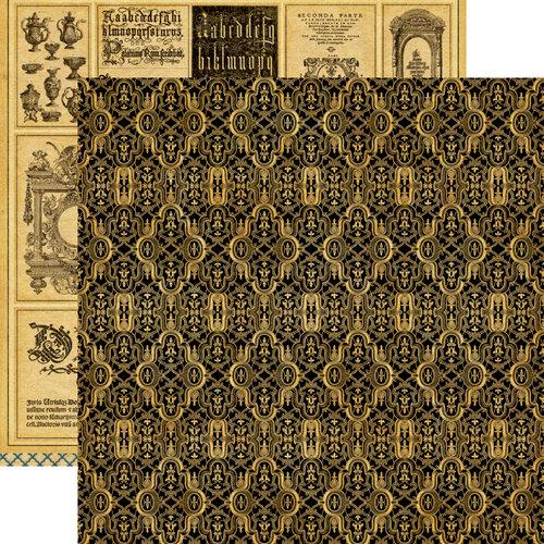 Graphic 45 - Renaissance Faire Collecion - 12 x 12 Double Sided Paper - Masterpiece