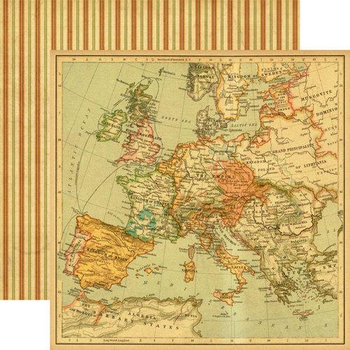 Graphic 45 - Renaissance Faire Collecion - 12 x 12 Double Sided Paper - Triumphant