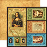 Graphic 45 - Renaissance Faire Collecion - 12 x 12 Die Cuts - Frames