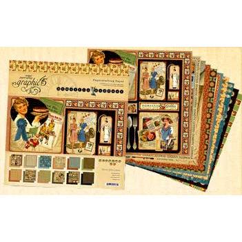 Graphic 45 - Domestic Goddess - 12 x 12 Paper Pad