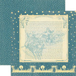 Graphic 45 - Christmas Past Collection - 12 x 12 Double Sided Paper - The Night Before Christmas