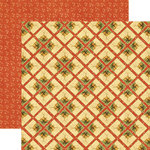 Graphic 45 - Christmas Past Collection - 12 x 12 Double Sided Paper - Glad Tidings