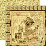 Graphic 45 - Le Romantique Collection - 12 x 12 Double Sided Paper - Le Romantique
