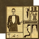 Graphic 45 - Le Romantique Collection - 12 x 12 Double Sided Paper - Well Groomed