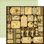 Graphic 45 - Le Romantique Collection - 12 x 12 Die Cuts - Tags
