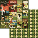 Graphic 45 - A Proper Gentleman Collection - 12 x 12 Double Sided Paper - Sporting Aristocrat