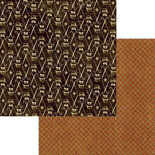 Graphic 45 - A Proper Gentleman Collection - 12 x 12 Double Sided Paper - Haberdasher