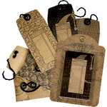 Graphic 45 - Staples Collection - Envelope Tags