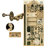 Graphic 45 - Staples Collection - Cardstock Stickers