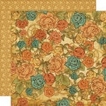 Graphic 45 - Steampunk Debutante Collection - 12 x 12 Double Sided Paper - Fantasy Floral