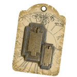 Graphic 45 - Staples Collection - Metal Tags