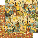 Graphic 45 - Le Cirque Collection - 12 x 12 Double Sided Paper - Dazzle and Delight
