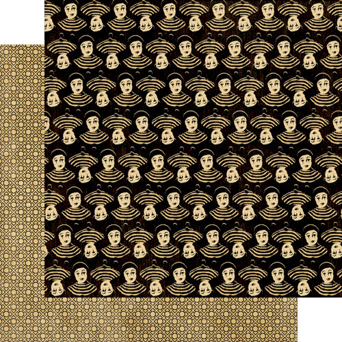 Graphic 45 - Curtain Call Collection - 12 x 12 Double Sided Paper - Pantomime