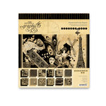 Graphic 45 - Curtain Call Collection - 8 x 8 Paper Pad