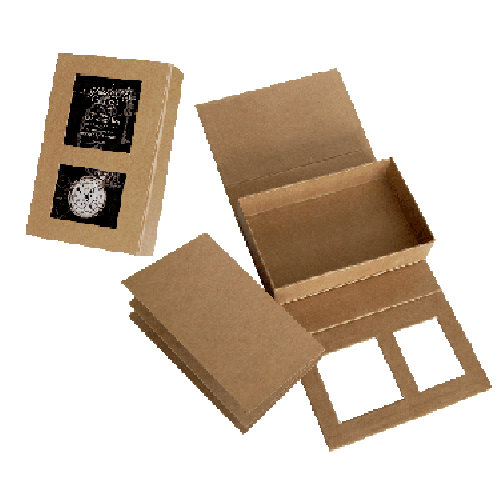 Graphic 45 - Staples Collection - 5 x 8 Kraftboard Shadowbox and Kraft Album