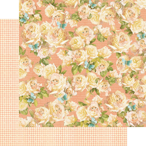 Graphic 45 - Little Darlings Collection - 12 x 12 Double Sided Paper - Peek-A-Boo