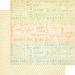 Graphic 45 - Little Darlings Collection - 12 x 12 Double Sided Paper - Rock-A-Bye