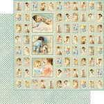 Graphic 45 - Little Darlings Collection - 12 x 12 Double Sided Paper - New Arrival