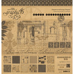 Graphic 45 - Kraft Reflections Collection - 12 x 12 Paper Pad