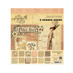 Graphic 45 - Ladies' Diary Collection - 8 x 8 Paper Pad