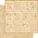 Graphic 45 - Nutcracker Sweet Collection - Christmas - 12 x 12 Double Sided Paper - Enchanted Journey