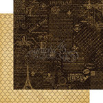 Graphic 45 - French Country Collection - 12 x 12 Double Sided Paper - Montage