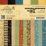 Graphic 45 - French Country Collection - 6 x 6 Patterns and Solids Pad